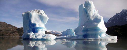 Imágenes del Continente Antártico