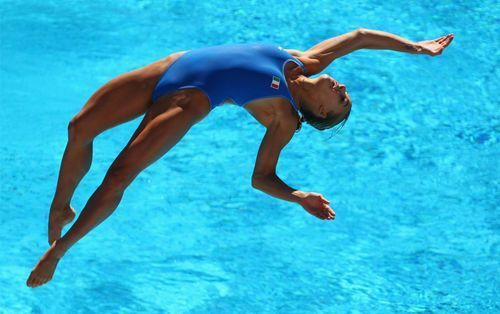 Saltos acuáticos