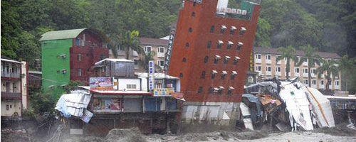 El impacto del tifón Morakot