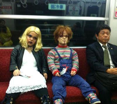Acojone en el metro, nivel experto.