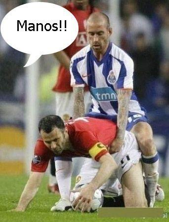 Lo que el árbitro no ve…