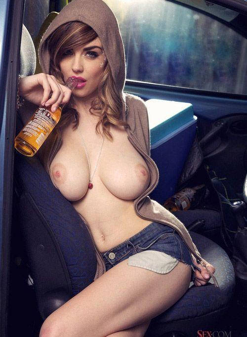 Cerveza y tetas