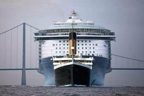 Titanic Vs Allure Of The Seas