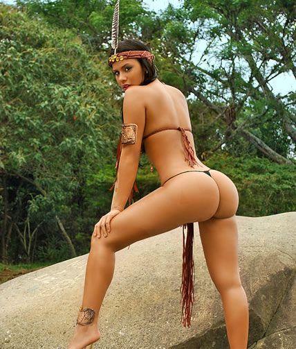 El culazo de Pocahontas