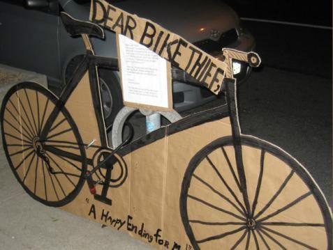 Querido ladrón de bicicletas: