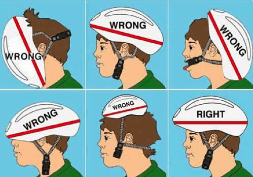 Importante para ir en bici