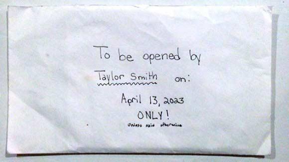 La carta de una niña fallecida a 'su futuro yo'