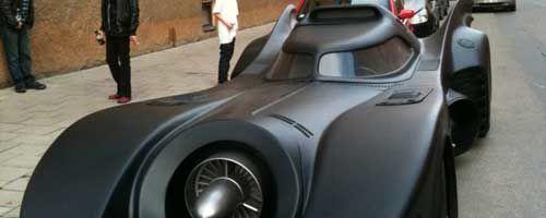 Réplica del coche de Batman