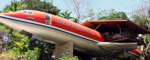 Boeing 727 convertido en Hotel