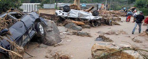Desastre en Brasil por fuertes lluvias