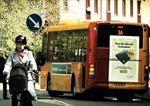Sorpresa para el conductor de autobús
