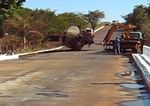 Explosión de un camión cisterna