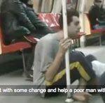 El caradura del metro