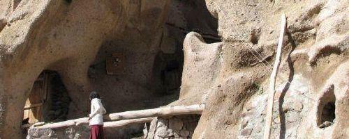 Casas cueva en Irán