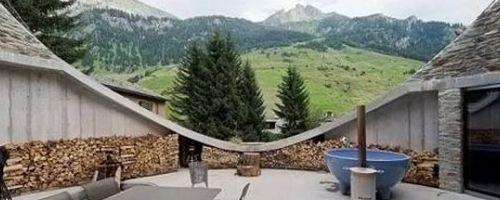 Casa Hobbit en Suiza