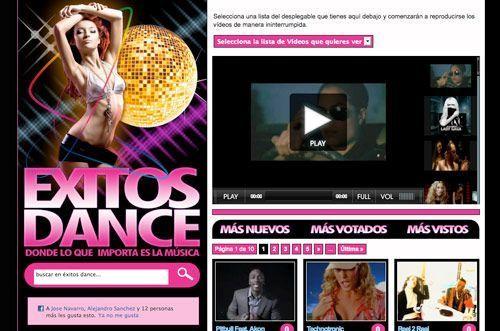 Exitosdance.com | Nueva web de videoclips y musica dance