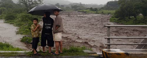 Desastres en Guatemala