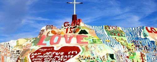 Salvation Mountain – La montaña pintada