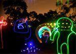 Efecto neones con glow sticks