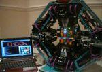 El Robot que resuelve el cubo de Rubik
